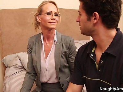 Simone Sonay & Giovanni Francesco in My First Sex Teacher
