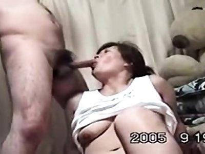 Adult Japanese AV Model gives an amazing blowjob