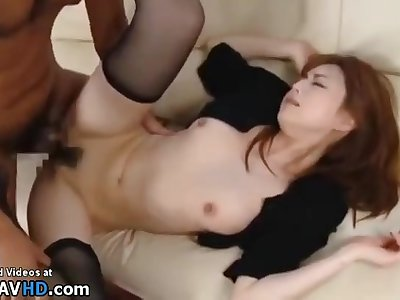 Japanese Wife Involving Stockings Copulated By Older Man