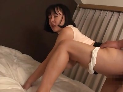 Bodily delight with the curvy ass Japanese old woman