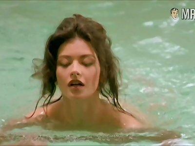 Catherine Zeta-Jones nude scenes compilation videotape