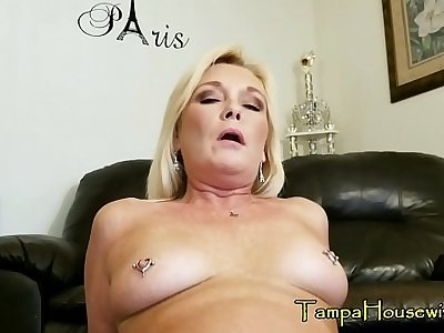 A Son Gets to Creampie His Matriarch TWICE