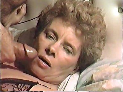 vhs porno of a hot grown-up milf wife facefuck jizz facial
