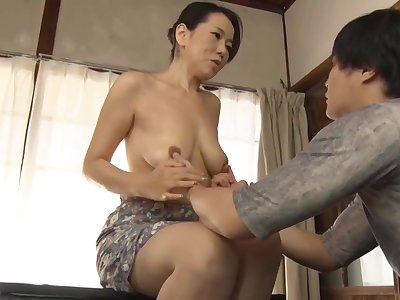 Japanese Mom Making Son Industry Sex