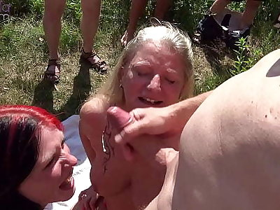 Matriarch and stepdaughter were dirty used by countless females at a Medicine lavage lake! Fidelity 4