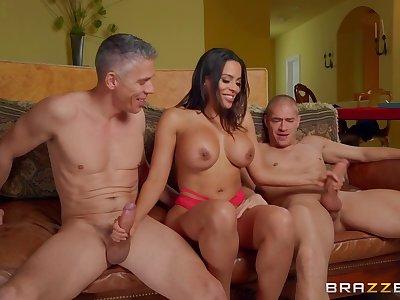 My Vengeful Valentine - DP threesome here Mick Blue, Xander Corvus and Latina Luna Star